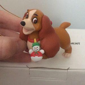 Disney's Lady & the Tramp Christmas ornament